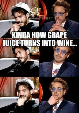 Grape juice memes