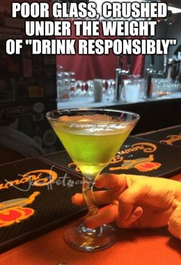 Drink responsibly memes