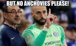 No anchovies memes