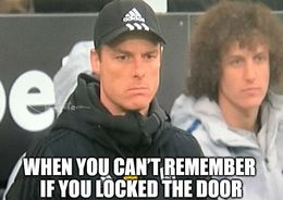 Locked the door memes
