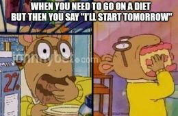 On a diet memes