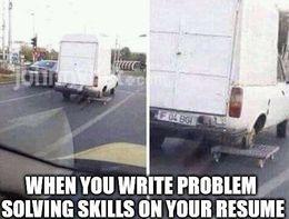 Problem solving skills memes