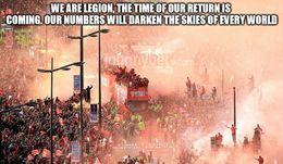 We are legion memes