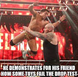 The drop test memes