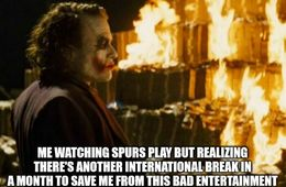 Spurs play memes