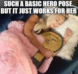 Hero pose memes