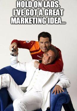 Marketing funny memes