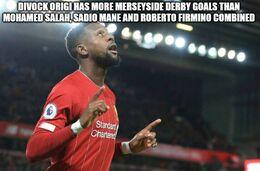 Derby goals memes