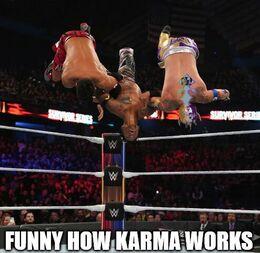 Karma works memes