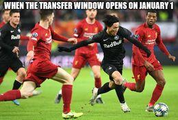 Transfer window opens memes