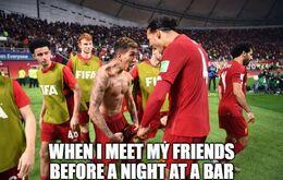 Night at a bar memes