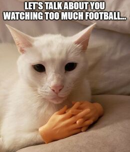 Too much football memes