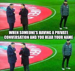 Private conversation memes