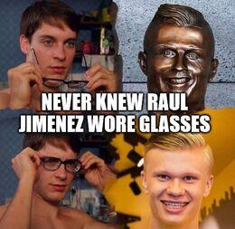 Wore glasses memes