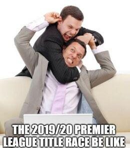 Title race memes