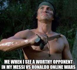 Worthy opponent memes