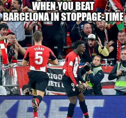 Stoppage time memes