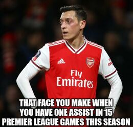 You have one assist memes