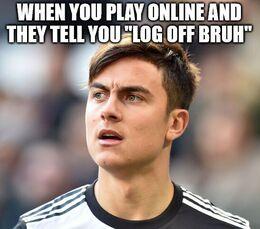 Log off memes