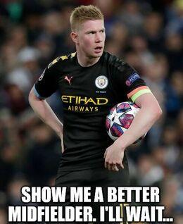 A better midfielder memes