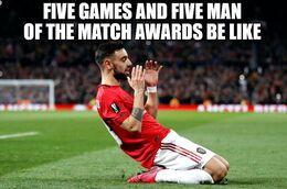 Man of the match memes