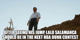 His jump memes