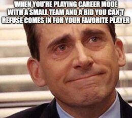 Favorite player memes