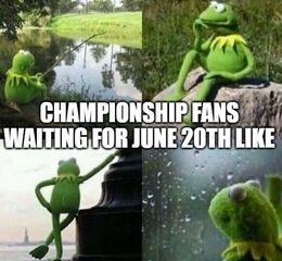 Fans waiting memes