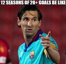 Goals be like memes