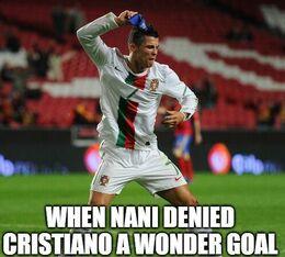 Wonder goal memes