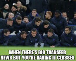 Transfer news memes