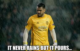 Never rains memes