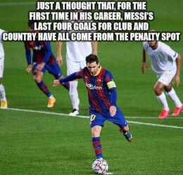 Penalty spot memes