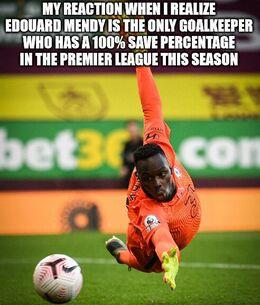 Only goalkeeper memes