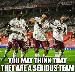 Serious team memes