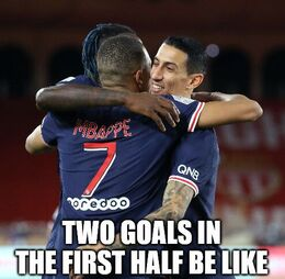 Two goals memes