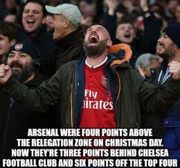 Relegation zone memes