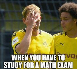 Math exam memes