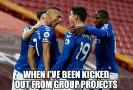 Group projects memes