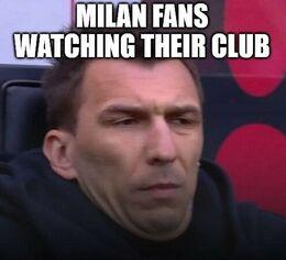Milan fans memes