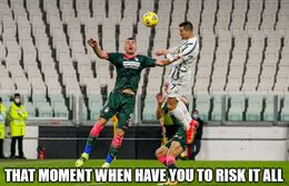 Risk it memes