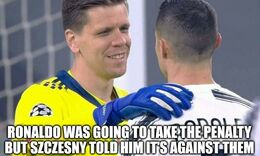 Take the penalty memes