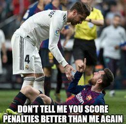 Score penalties memes