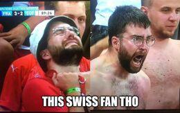 Swiss fan memes