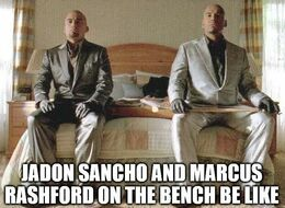 On the bench memes