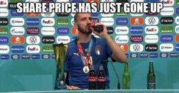 Share price memes