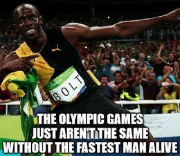 The fastest man memes