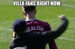 Villa fans memes