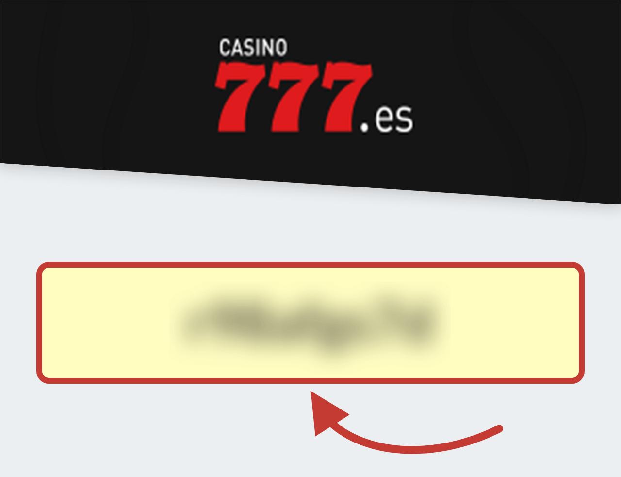 Casino777 Código Promocional