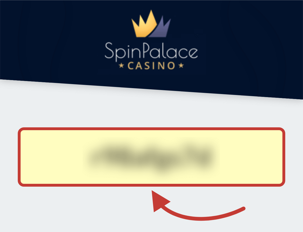 Spin Palace Casino Bonus Code